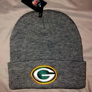 NWT NFL Knit Winter Green Bay Packers Hat Gray